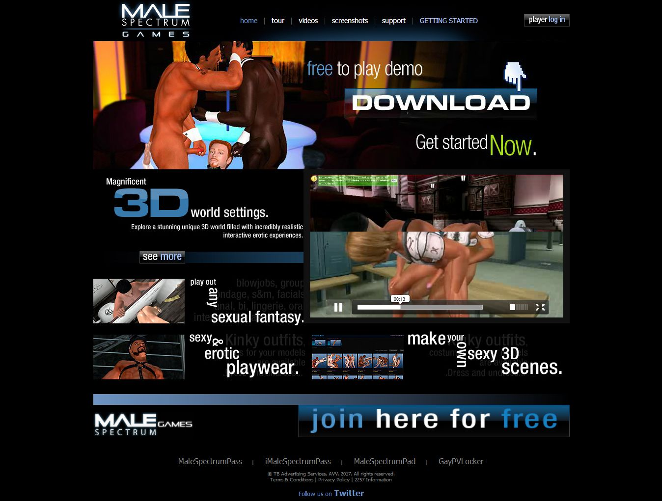 Male Spectrum Games