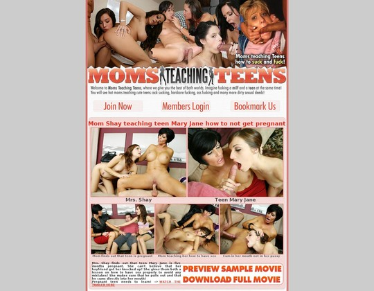 Moms Teaching Teens