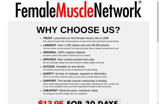 Female Muscle Pornstars