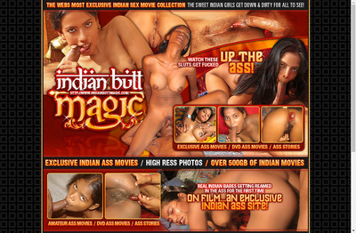 Indian Butt Magic