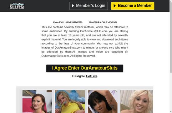 Our Amateur Sluts