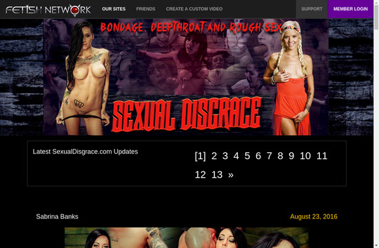 Sexual Disgrace