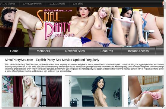 Sinful Panty Sex