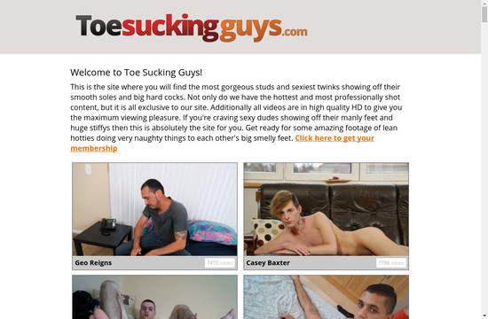 Toe Sucking Guys Tube