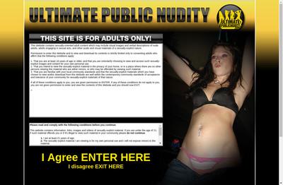 Ultimate Public Nudity