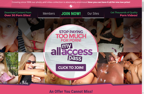 My All Access Pass