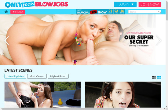 Only Teen Blowjobs