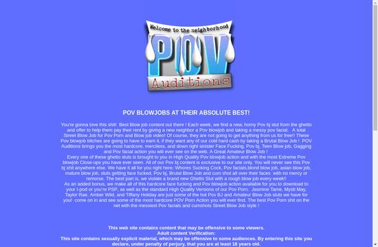 POV-Auditions