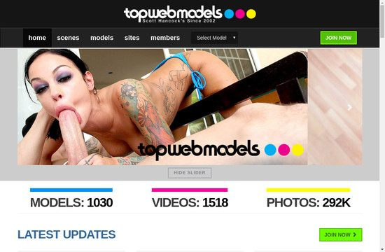 Top Web Models