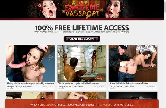 Free Extreme Passport