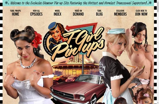 T Girl Pinups