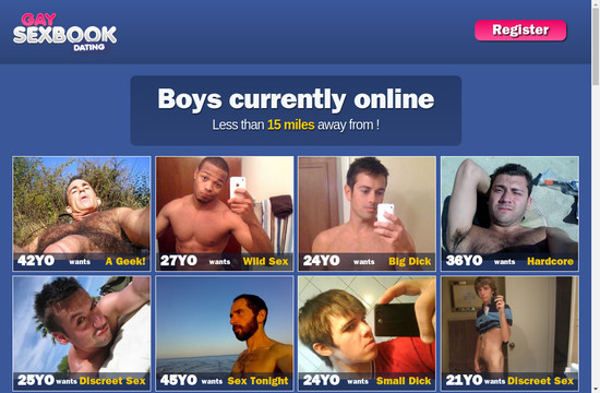 Gay Sexbook Dating