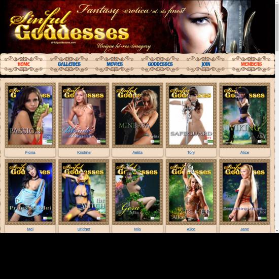Sinful Goddesses