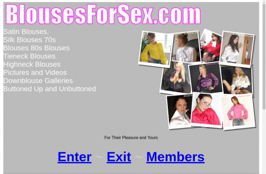 blouses for sex