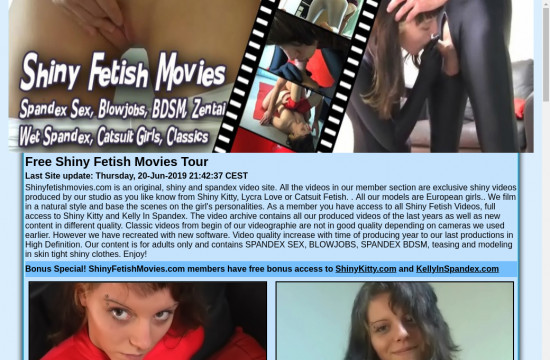 shiny fetish movies