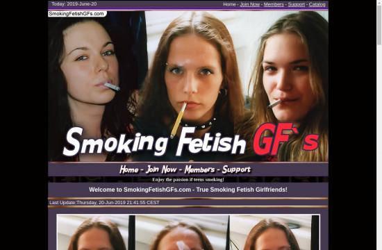 smoking fetish g fs