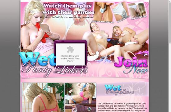 wet panty lickers