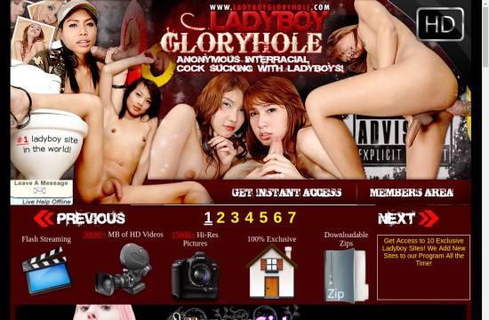 ladyboy gloryhole