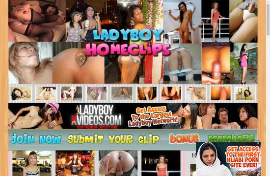 ladyboy home clips