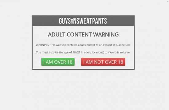 guys in sweat pants