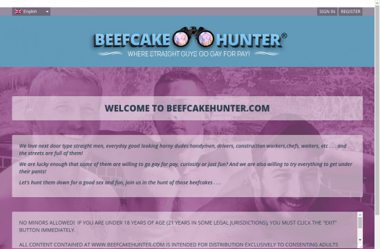 beef cake hunter