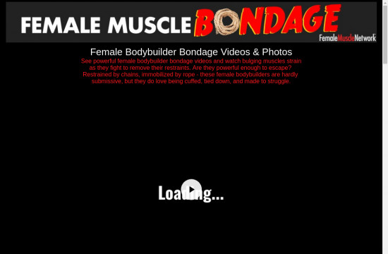 female muscle bondage