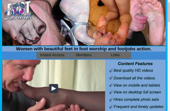 foot divas