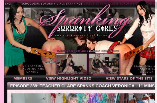 spanking sorority girls