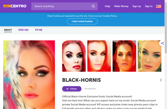 black hornis