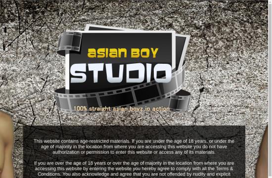 asian boy studio