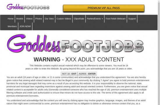 goddess foot jobs