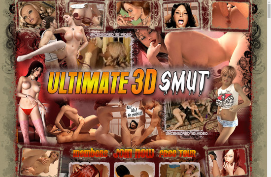 ultimate 3 d smut