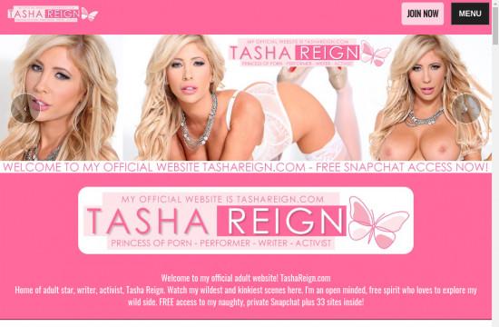 tasha reign official