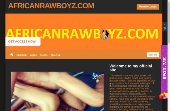african raw boyz