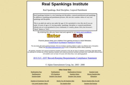 real spankings institute