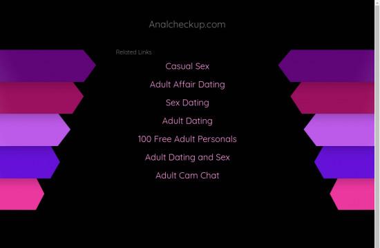 anal checkup